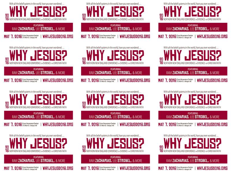 Why Jesus? 2016